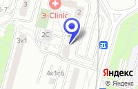 Схема проезда до компании ТПФ ТЕХНОВОРТЕКСИНВЕСТ в Москве