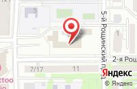 Схема проезда до компании Главспецстройпроект в Москве