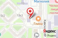 Схема проезда до компании Стэмп в Москве
