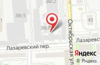 Схема проезда до компании Лэдис Лэнд в Москве