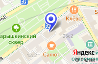 Схема проезда до компании МЕБЕЛЬНЫЙ САЛОН АНРИС в Москве
