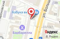 Схема проезда до компании Столицаторг в Москве