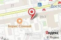 Схема проезда до компании Элита в Москве