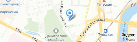 Авто-Партнер М на карте Москвы