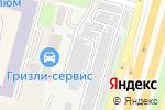 Схема проезда до компании Автоателье в Москве