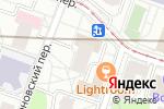 Схема проезда до компании Инвесткапстрой в Москве