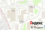 Схема проезда до компании Моторпром в Москве