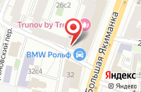 Схема проезда до компании ИнТехСтрой в Москве