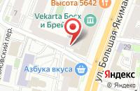 Схема проезда до компании Тритон в Москве