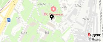AKKUM.RU на карте Москвы