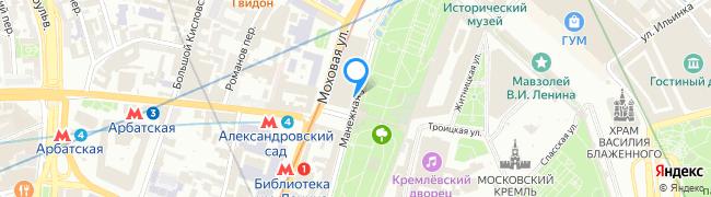 Манежная улица