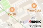 Схема проезда до компании Stereo People в Москве