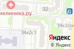Схема проезда до компании Хорда Автозапчасти в Москве