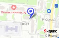 Схема проезда до компании МАГАЗИН ТРИДА МЕБЕЛЬ в Москве