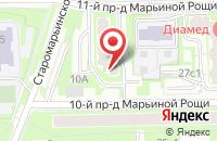 Схема проезда до компании Кредитный Консультант в Москве