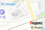 Схема проезда до компании Ремстройсервис-М в Москве