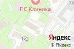 Схема проезда до компании Талант-паркет в Москве