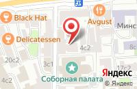 Схема проезда до компании Модус в Москве