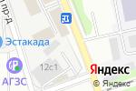 Схема проезда до компании РЕКАНТ в Москве