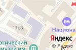 Схема проезда до компании На Моховой в Москве