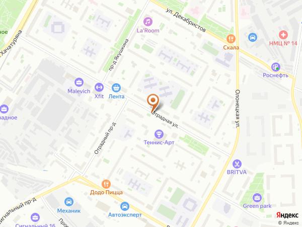 Остановка Отрадная ул. в Москве
