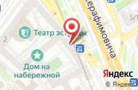 Схема проезда до компании Издательская Группа Открытые Системы в Москве