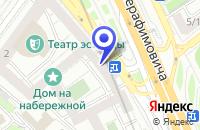 Схема проезда до компании АРХИТЕКТУРНО-ПРОЕКТНАЯ ФИРМА ЭХИН в Москве