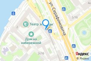 Снять комнату в пятикомнатной квартире в Москве м. Кропоткинская, улица Серафимовича, 2