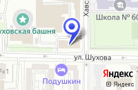 Схема проезда до компании МОНТАЖНО-ПРОИЗВОДСТВЕННАЯ ФИРМА BUGR в Москве