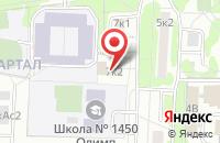 Схема проезда до компании Чилла Дизайн Студия в Москве
