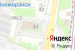 Схема проезда до компании Дорожная в Москве