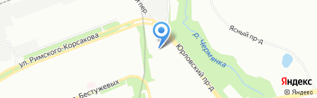 Омега Сервис на карте Москвы