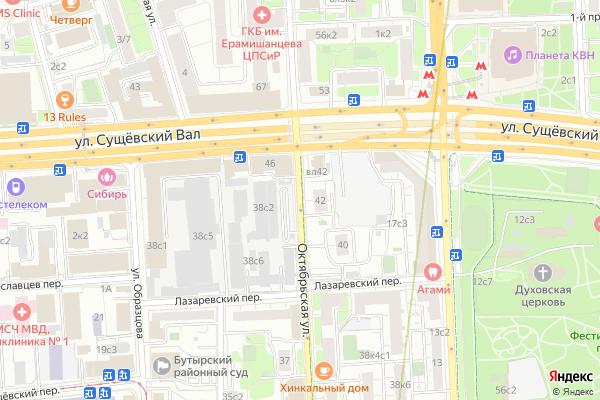 Ремонт телевизоров Улица Октябрьская на яндекс карте