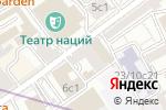 Схема проезда до компании Лидер ТВ в Москве