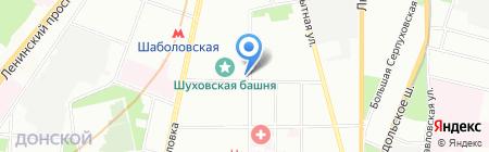 Абсолют на карте Москвы
