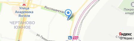 Грин Хил на карте Москвы