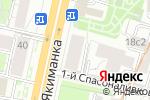 Схема проезда до компании ПромЭкономГрупп в Москве