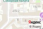Схема проезда до компании Мадо в Москве