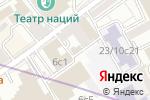 Схема проезда до компании Московская аудиторская палата в Москве