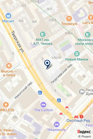 АКБ АВТОВАЗБАНК-МОСКВА на карте Москвы