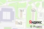 Схема проезда до компании Сады Придонья в Москве
