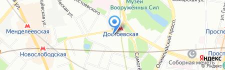 Мой Склад на карте Москвы