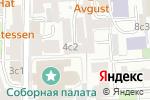 Схема проезда до компании Альфа-Залог в Москве