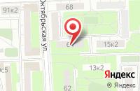 Схема проезда до компании Добрый доктор в Ильинском