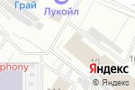 Схема проезда до компании Эльман-Трейд в Москве