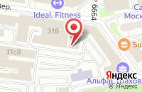 Схема проезда до компании Интермедиагруп в Москве