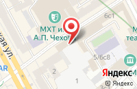 Схема проезда до компании Камелот Паблишинг в Москве