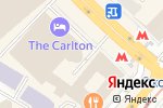 Схема проезда до компании Центральная парковка в Москве