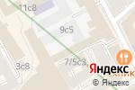 Схема проезда до компании Росинвент в Москве