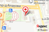 Схема проезда до компании Технотрейд в Москве
